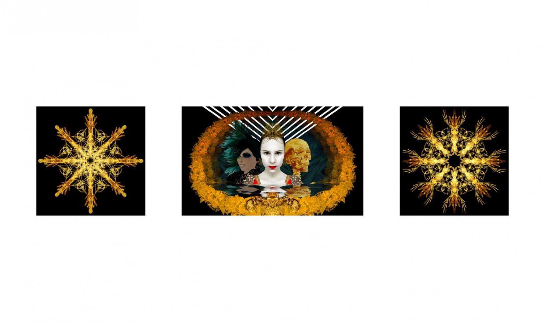 Vanity 100x60 cm /60x60 cm digital print 3d 2011