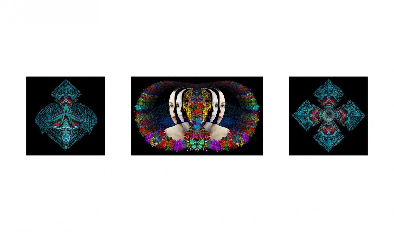 Agnus scythicus 100x60 cm /60x60 cm digital print 3d 2012