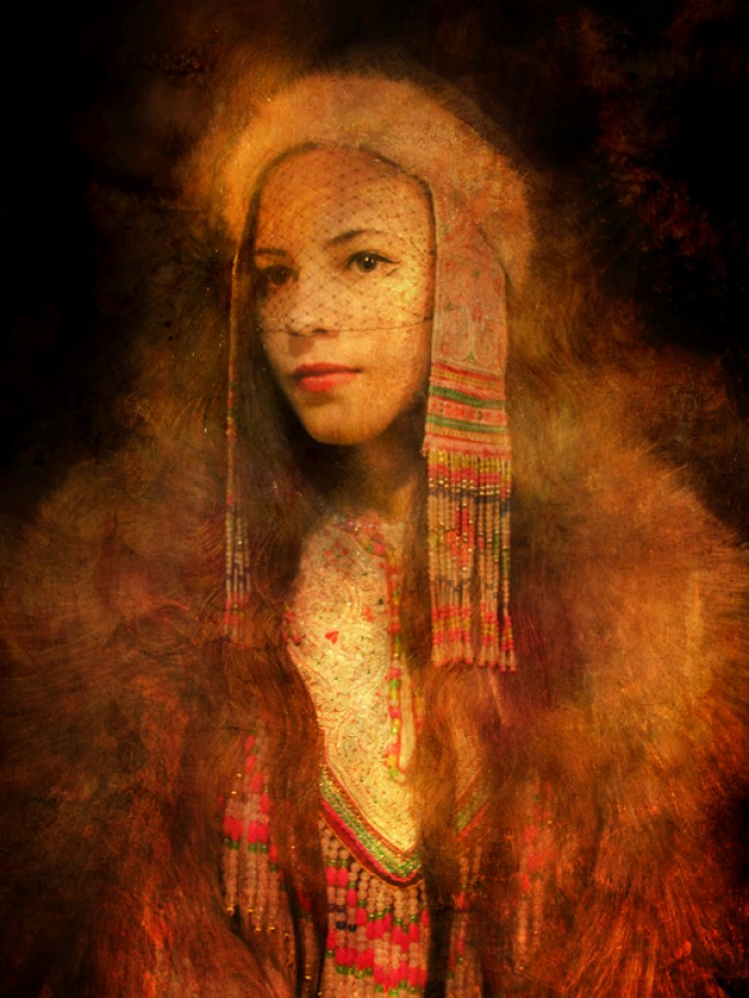 Extint tribe 45x60 cm Gallery Print 2013