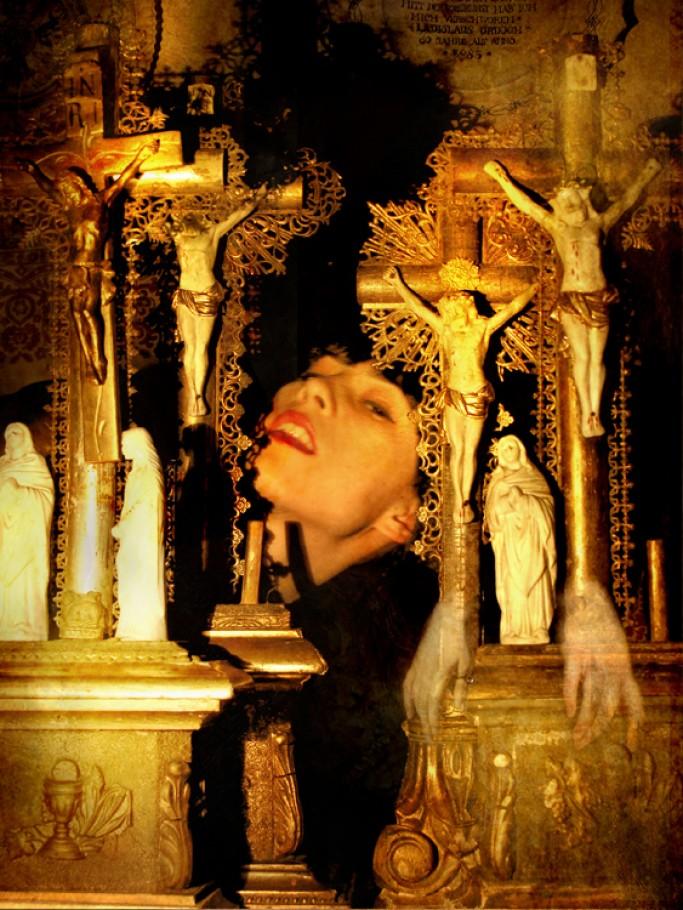 Jesuses 2 45x60 cm Digital Print 2015