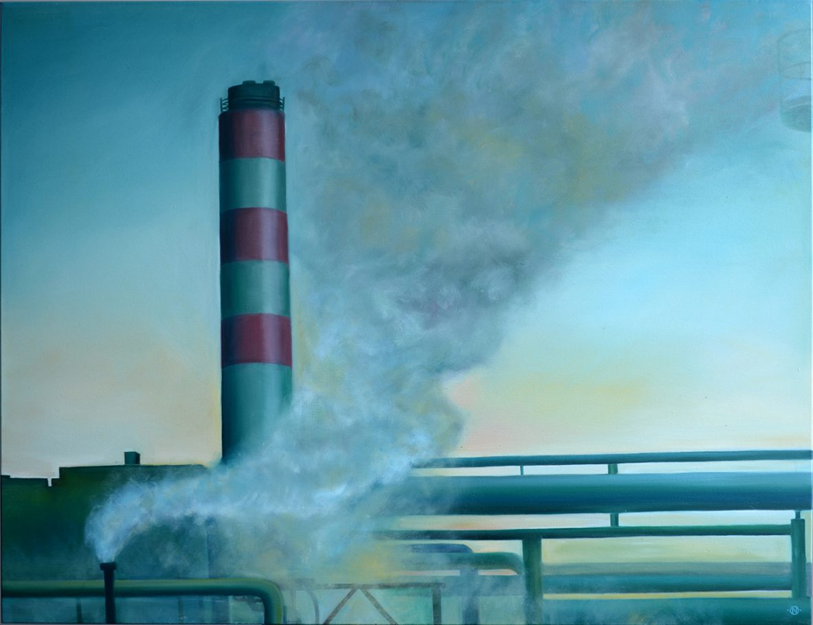 Factory 2 120x150cm oil on canvas 2005/2016