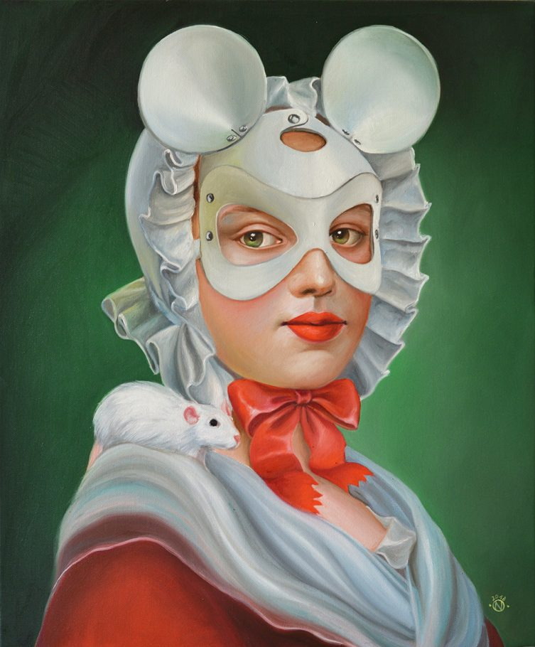 Yolandi 50x40 cm oil on canvas 2018
