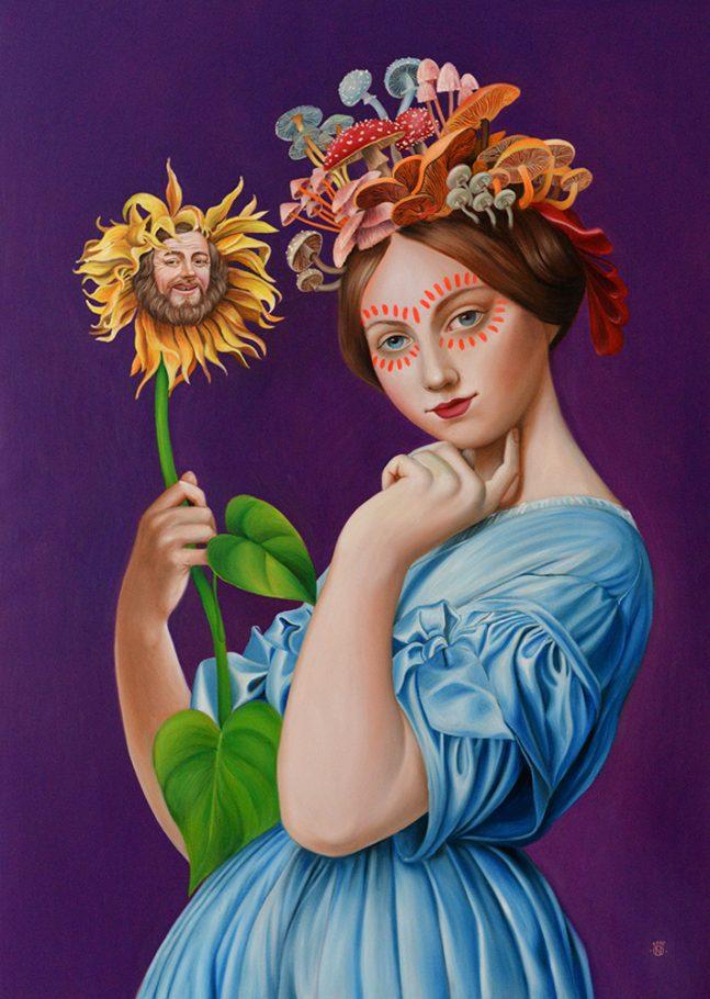 Lamour Imaginaire 140x100 cm oil on canvas 2018