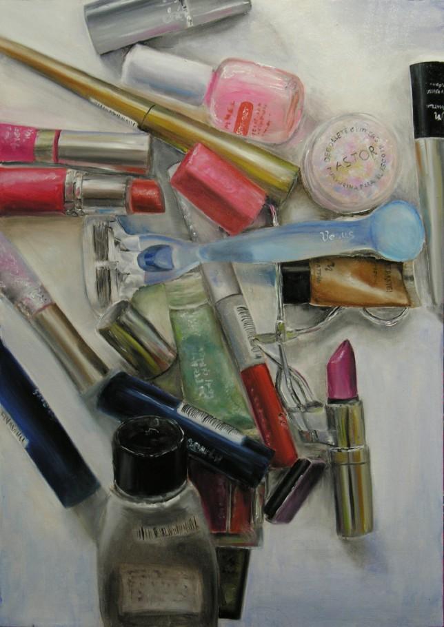Vanity 50x70 cm oil on canvas 2005