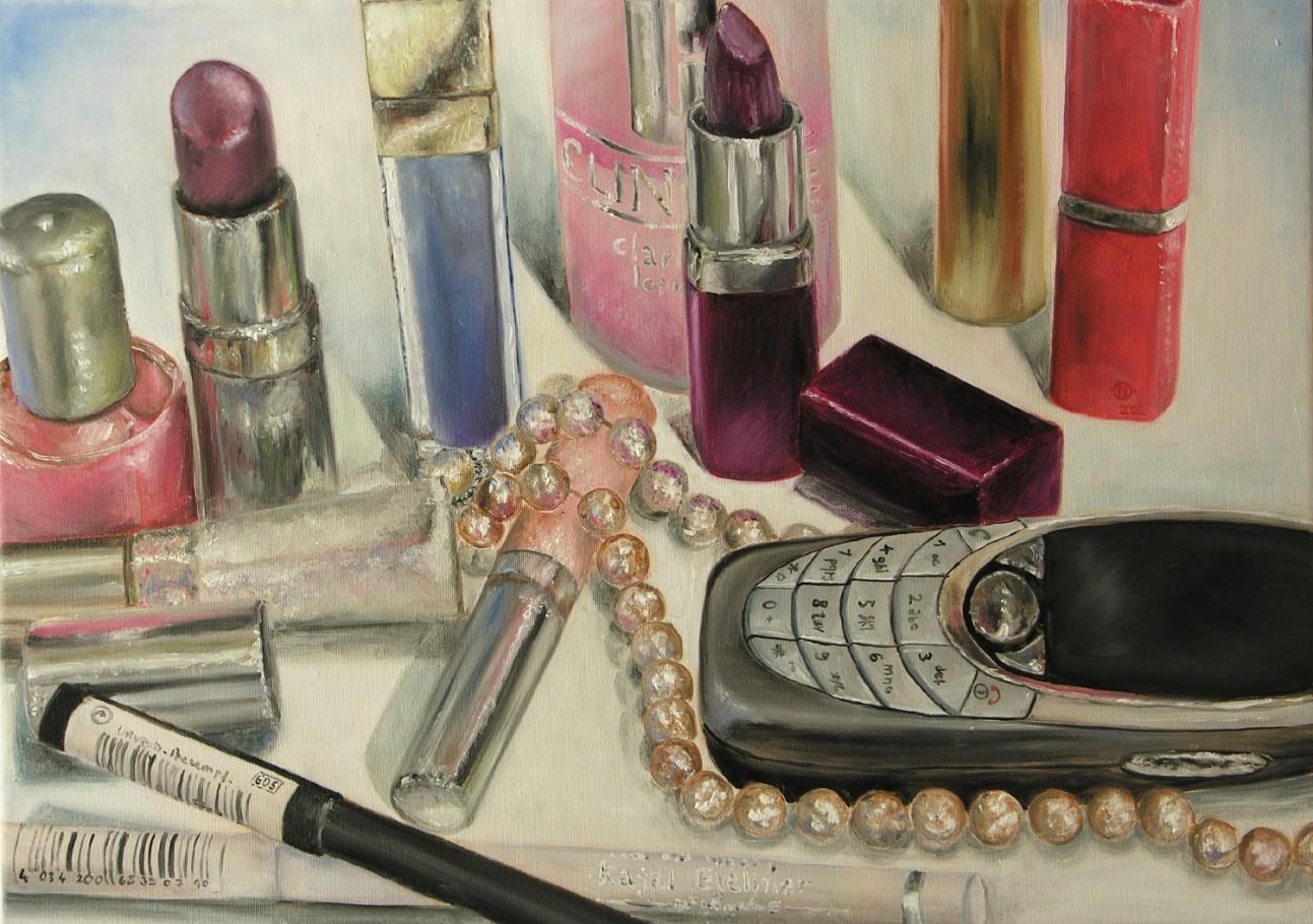 Vanity 50x70 cm oil on canvas 2007